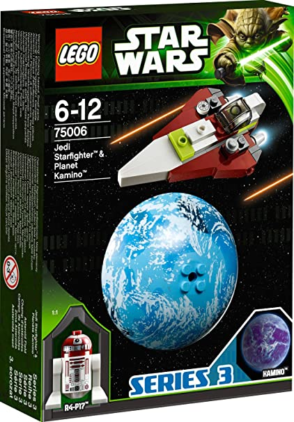 6025053 75006 LEGO Star Wars Jedi Starfighter and Kamino