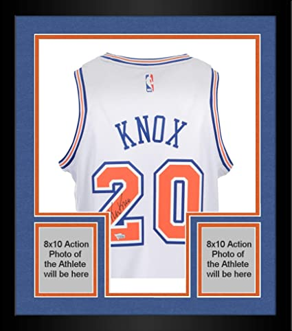 12967e5a0 Framed Kevin Knox New York Knicks Autographed White Nike Swingman Jersey -  Fanatics Authentic Certified