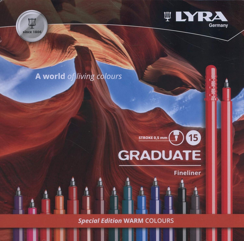 LYRA GRADUATE FINELINER 15 PCS