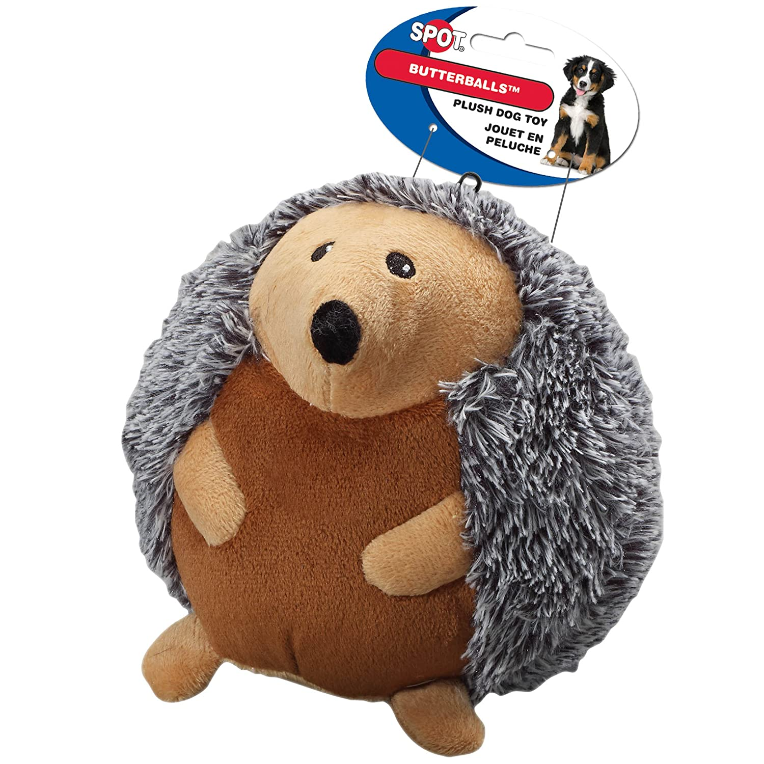 Pet Supplies : Pet Squeak Toys : Ethical Pet Butterballs Dog Toy, 6-Inch, Forest, Assorted : Amazon.com