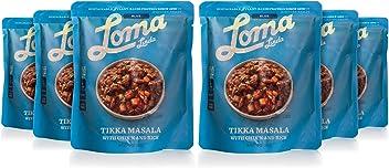 Loma Linda Blue - Vegan Complete Meal Solution - Heat & Eat Tikka Masala (10 oz.) (Pack of 6) - Non-GMO, Gluten Free