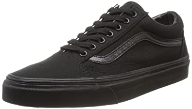 Vans Classic Old Skool Black Womens Trainers Size 3.5 UK