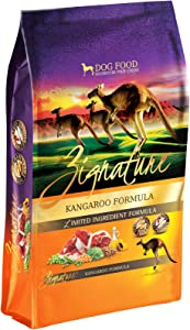 Zignature Kangaroo Formula Dog Food