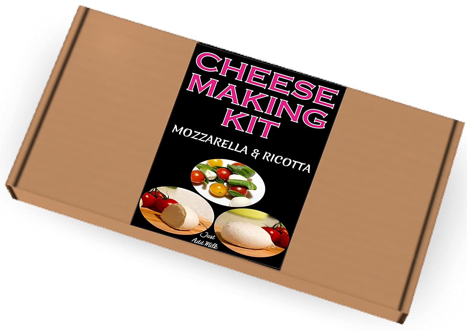 Cheese Making KIT =Mozzarella & Ricotta=Great Gift=Make Your Own Italian Cheese best4kits