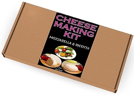Kit para hacer queso mozzarella y ricotta, un gran regalo, presente para todas las