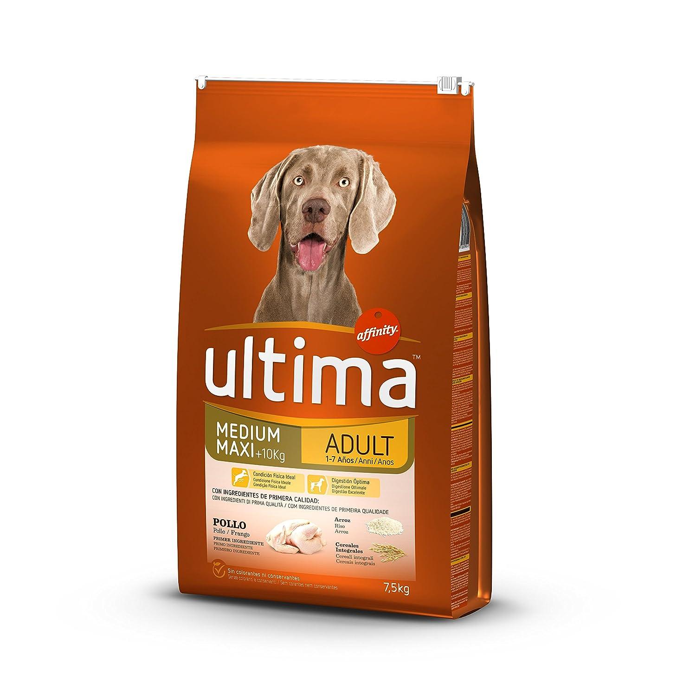 Ultima Pienso para Perros Medium-Maxi Adulto con Pollo - 7500 gr