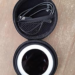 3x Schutztasche für Kopfhörer aus stoßfestem Material in grau