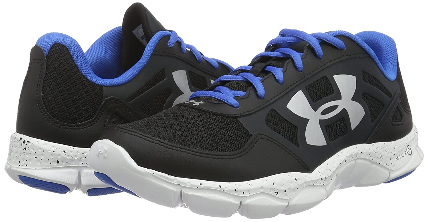 Mens Under Armour Micro G Engage BL H 2 Running Shoe Navy Blue