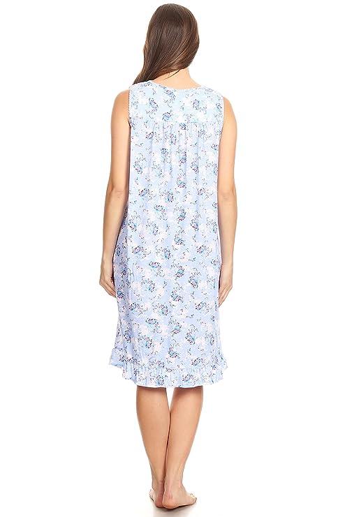 00112 Women Night Gowns Sleep Shirts Pajamas  Amazon.ca  Clothing    Accessories 0a5ddc0b4