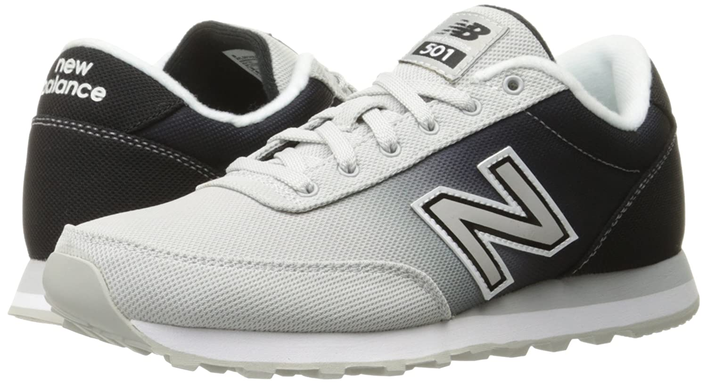 New Balance Women's 501 Classic Running Lifestyle Sneaker B01956B50S 8 B(M) US Microchip/Black