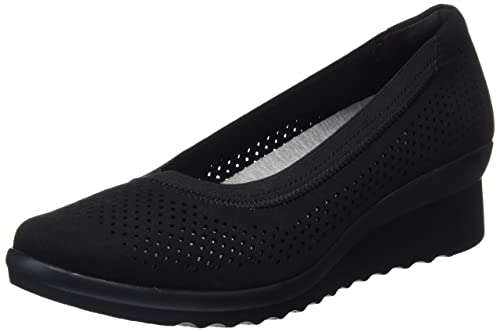 2099c2afb4e Clarks Women s Caddell Trail Closed-Toe Pumps  Amazon.co.uk  Shoes ...
