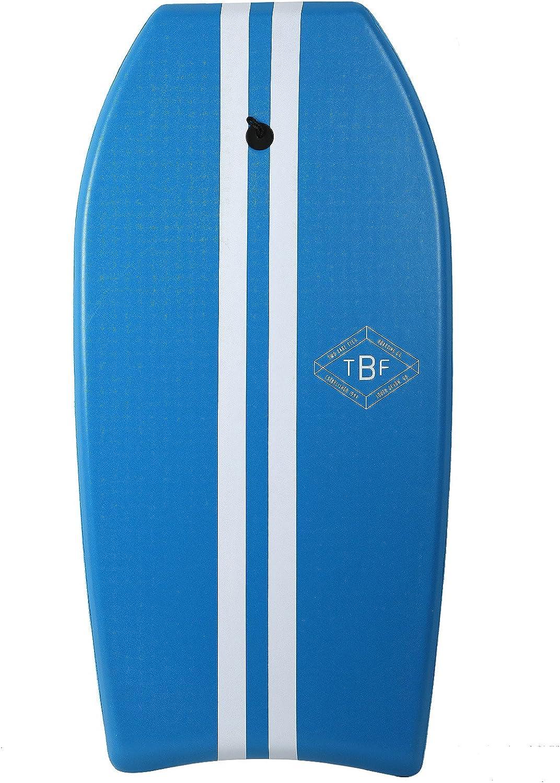 Slick Bottom EVA Core Two Bare Feet 42 Bodyboard with Leash XPE