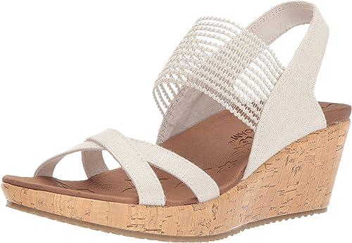 Sehr schöne Skechers Sandalen Keilabsatz Gr 39