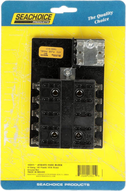 13311 10 Gang ATO//ATC SeaChoice Fuse Block