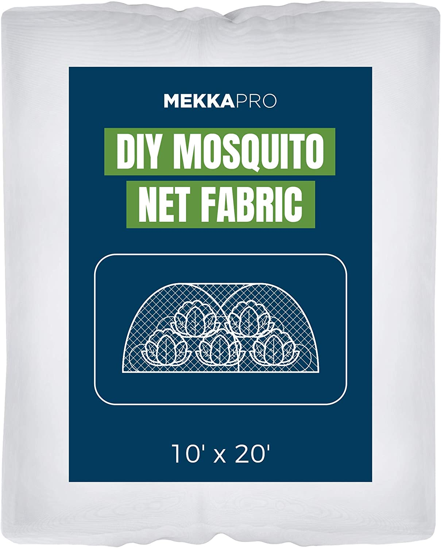 MEKKAPRO XL Mosquito Bug Screen Netting, 10ft x 20ft, Garden Netting for Vegetables, Flowers, Fruits, Plants Barrier Insect Bird