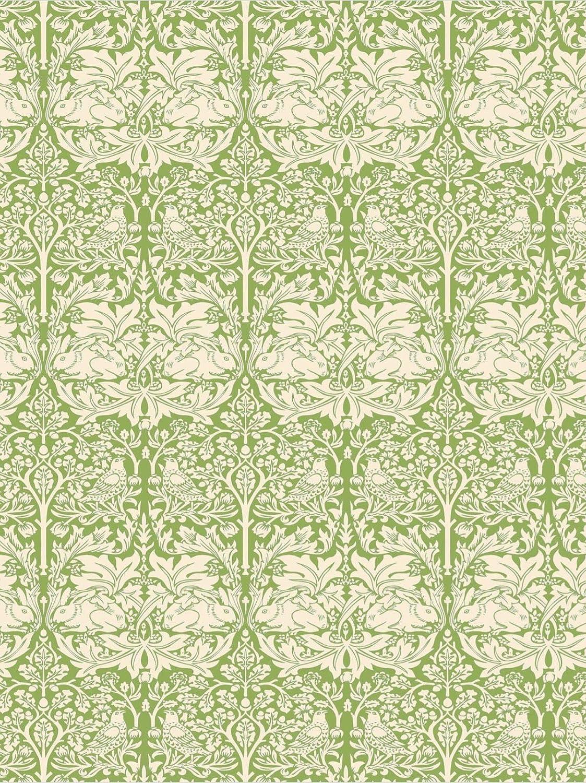 Samuel Lamont, Brother Rabbit, Victoria & Albert Museum, British Kitchen/Tea Towel, 100 Percent Cotton, William Morris