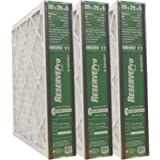 GeneralAire # 4551 for 4501 ReservePro 20x25x5 MERV 11 furnace filter, Actual Size:19 5/8' x 24 3/16' x 4 15/16' - Case…