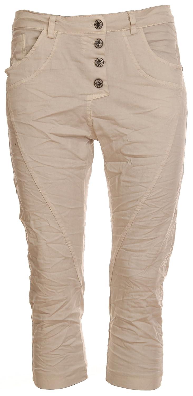 Basic.de Boyfriend Capri Trousers - beige - XS