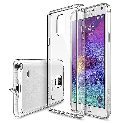 """332 opinioni per Galaxy Note 4 Custodia- Ringke FUSION """"Tutto Nuovo Polvere Copertura Cap &"""