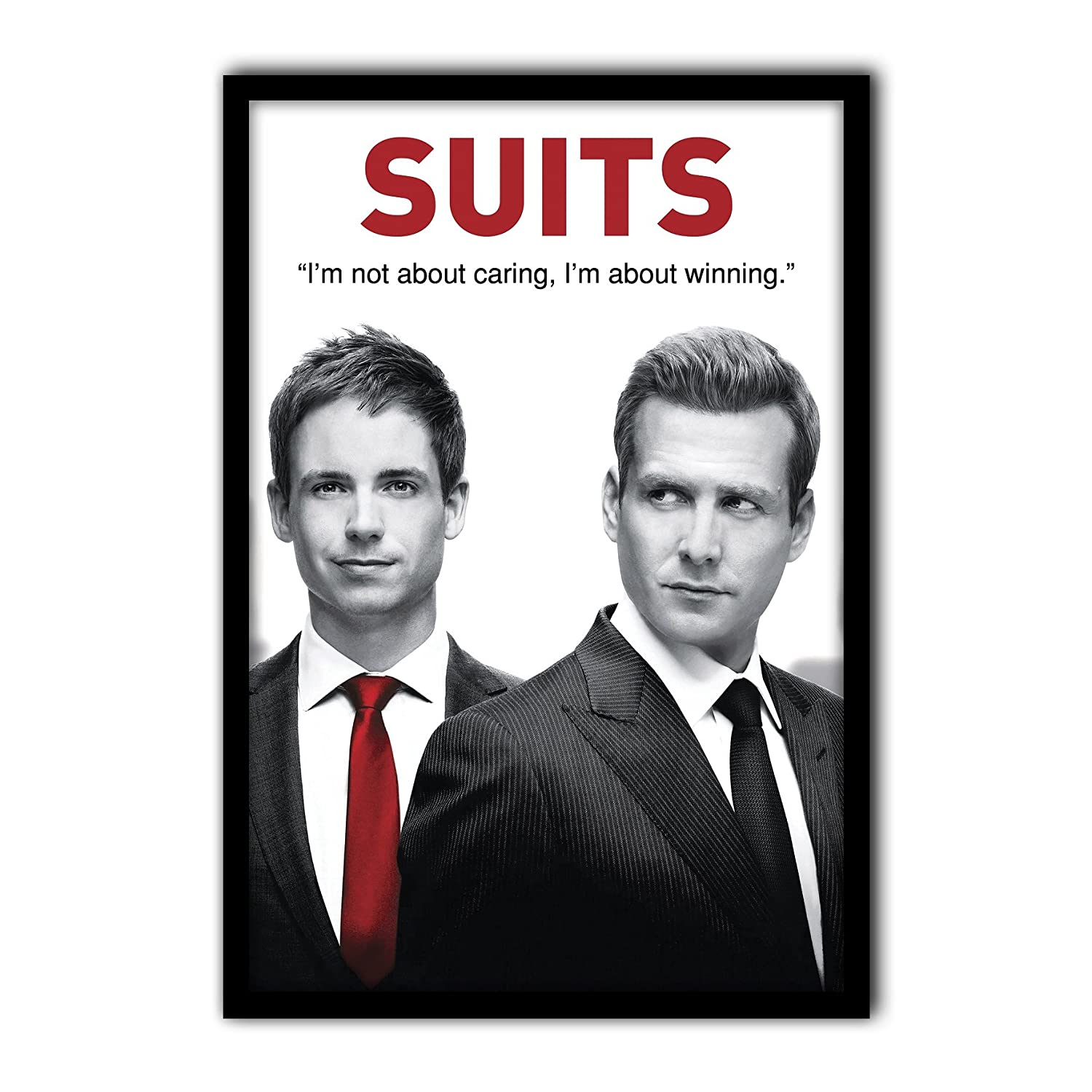 f7c75ea538f0c MC SID RAZZ Suits TV Series-Quote Poster of Harvey Spector and Mike Ross