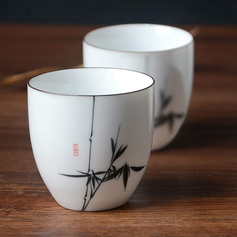 color Negro 4 tazas HwaGui Tetera Hierro Fundido Japonesa con Filtro Inox para Te como Regalo 800ml