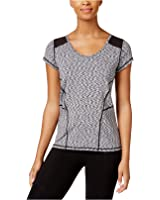 Calvin Klein Performance Women's Space-Dyed Top