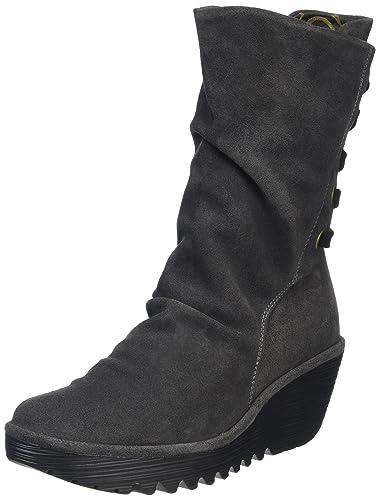 7c0b7b9a8437c Fly London Women s Yada Long Boots  Amazon.co.uk  Shoes   Bags