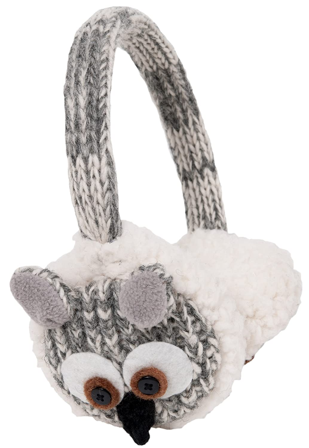 Nirvanna Designs EAOWL Owl Earmuffs, Grey Nirvanna Designs Inc