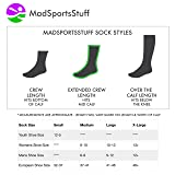 MadSportsStuff Lacrosse Socks Skull Player USA Flag Combo Pack