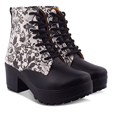 02f73b8515 KRAFTER Women's Canvas Boots