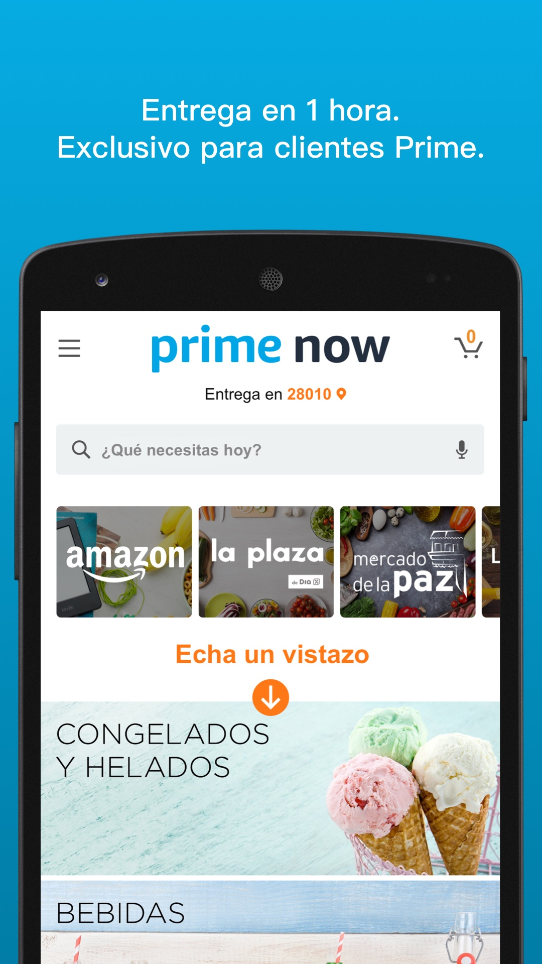 Codigo amazon now