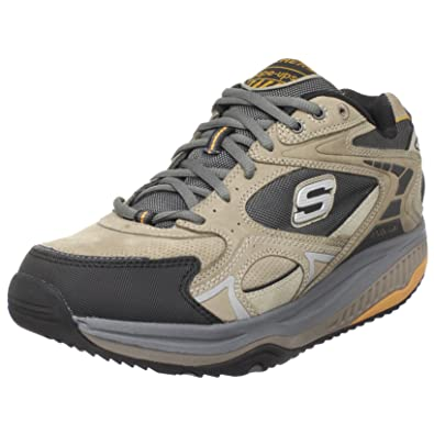 c422e7131f29 Skechers Mens Shape Ups Trainers Rendition - Taupe Black - UK Size 7.5 - EU