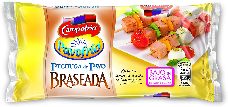 Campofrio Mini Pechuga de Pavo Braseada, 380g: Amazon.es ...