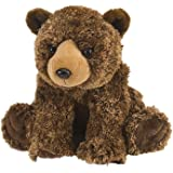 "Wild Republic Cuddlekin Brown Bear 12"" Plush"