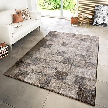 Amazon.de: TT Home Teppich Modern Wohnzimmer Webteppich Modern Style ...