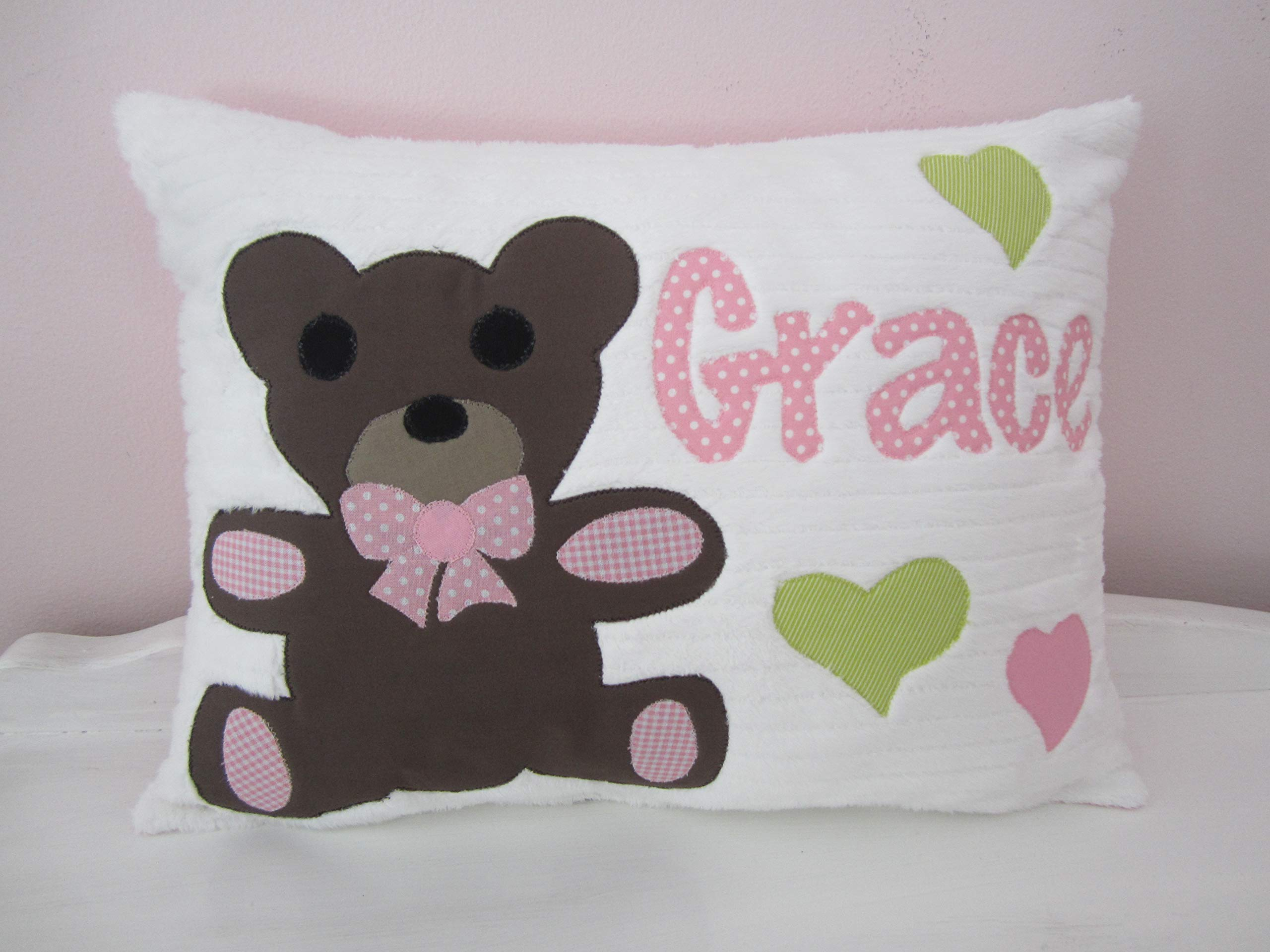 Personalized Teddy Bear pillow