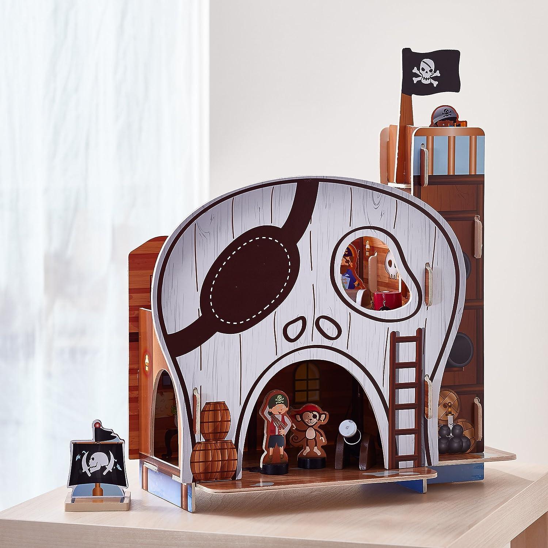 Teamson Kids Pirate Table Top Play Set Teamson Design Corp DROP SHIP TD-11822A