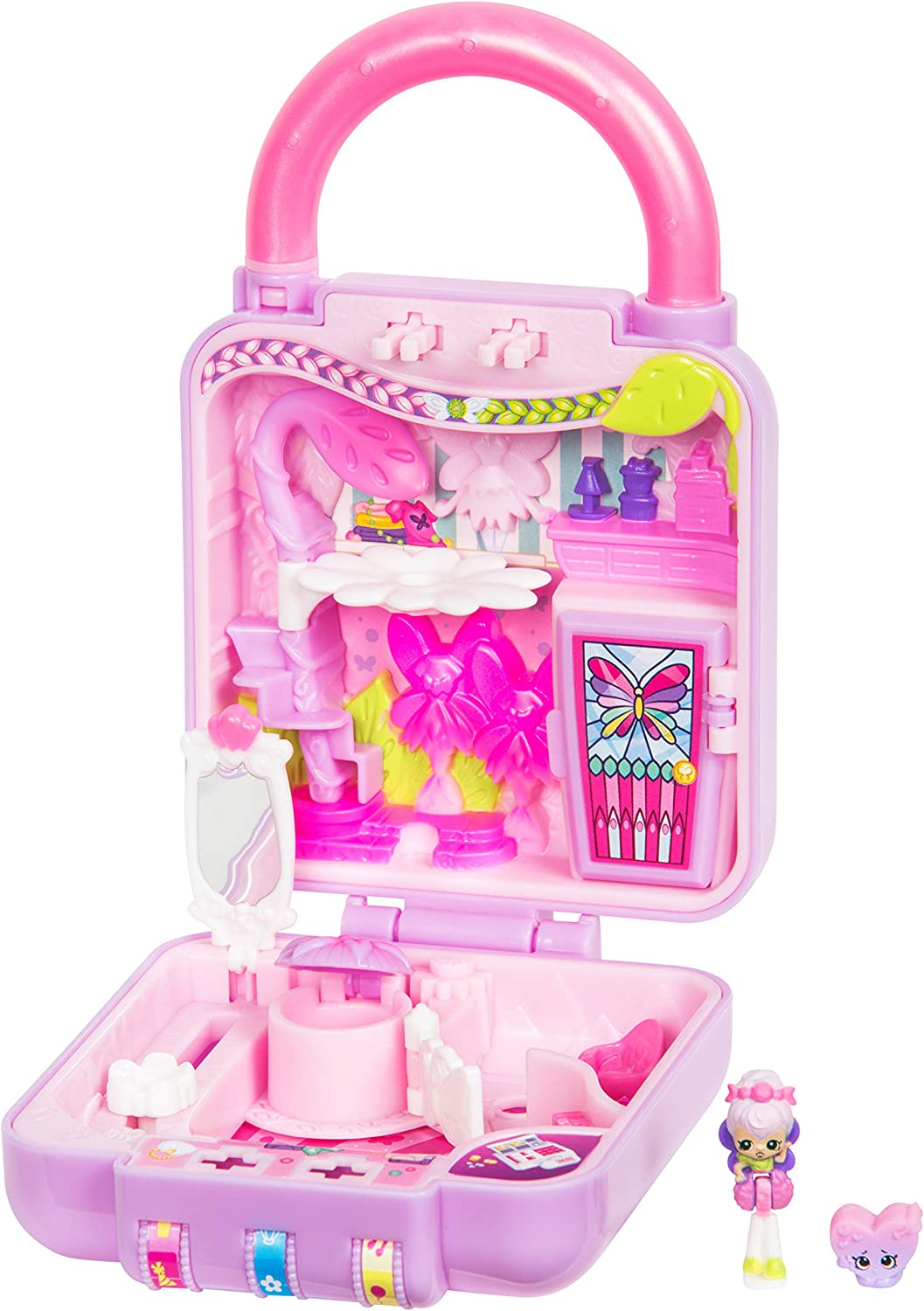 Shopkins Lil' Secrets Playset - Collectable Mini Playset with Secret with Shoppie & Shopkin Toy Inside- Fab Fairy Fashions
