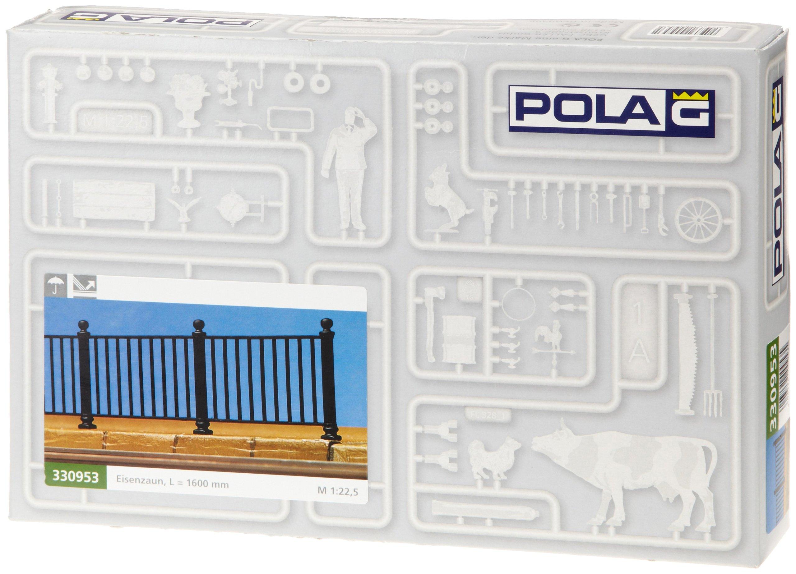 Pola 330953 Iron railing 8/G Scale Building Kit