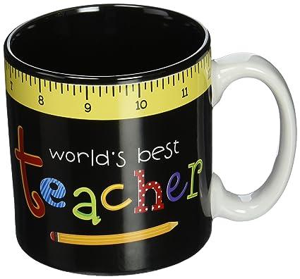 99c8b02e970 Burton & Burton World's Best Teacher Mug