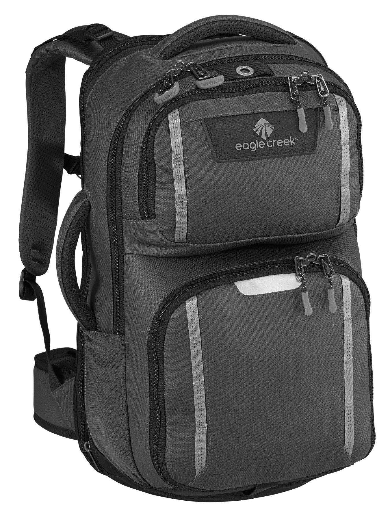 Eagle Creek Mission Control Backpack, Asphalt Black