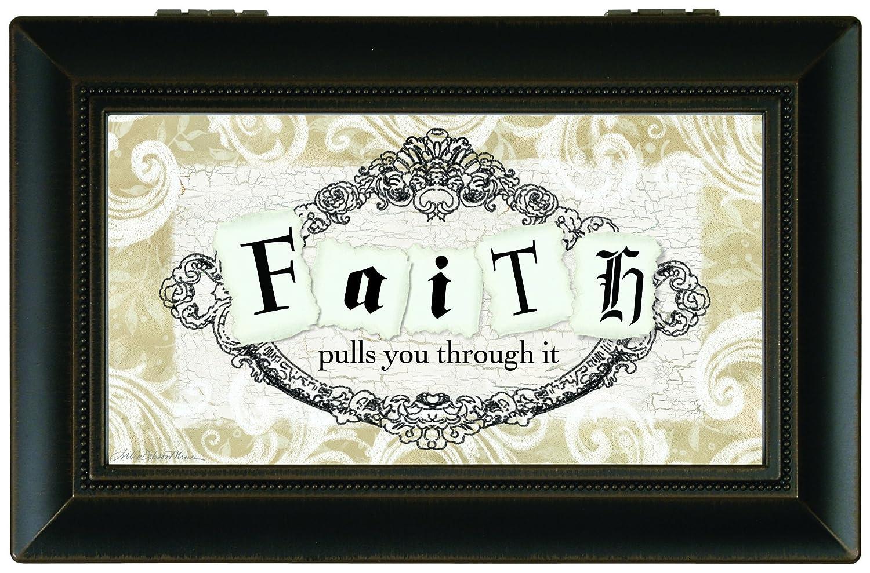 肌触りがいい Carsonホームアクセント音楽ボックス、Faith Pulls Pulls B016OZ793U B016OZ793U, Field Boss:b6451a0e --- arcego.dominiotemporario.com