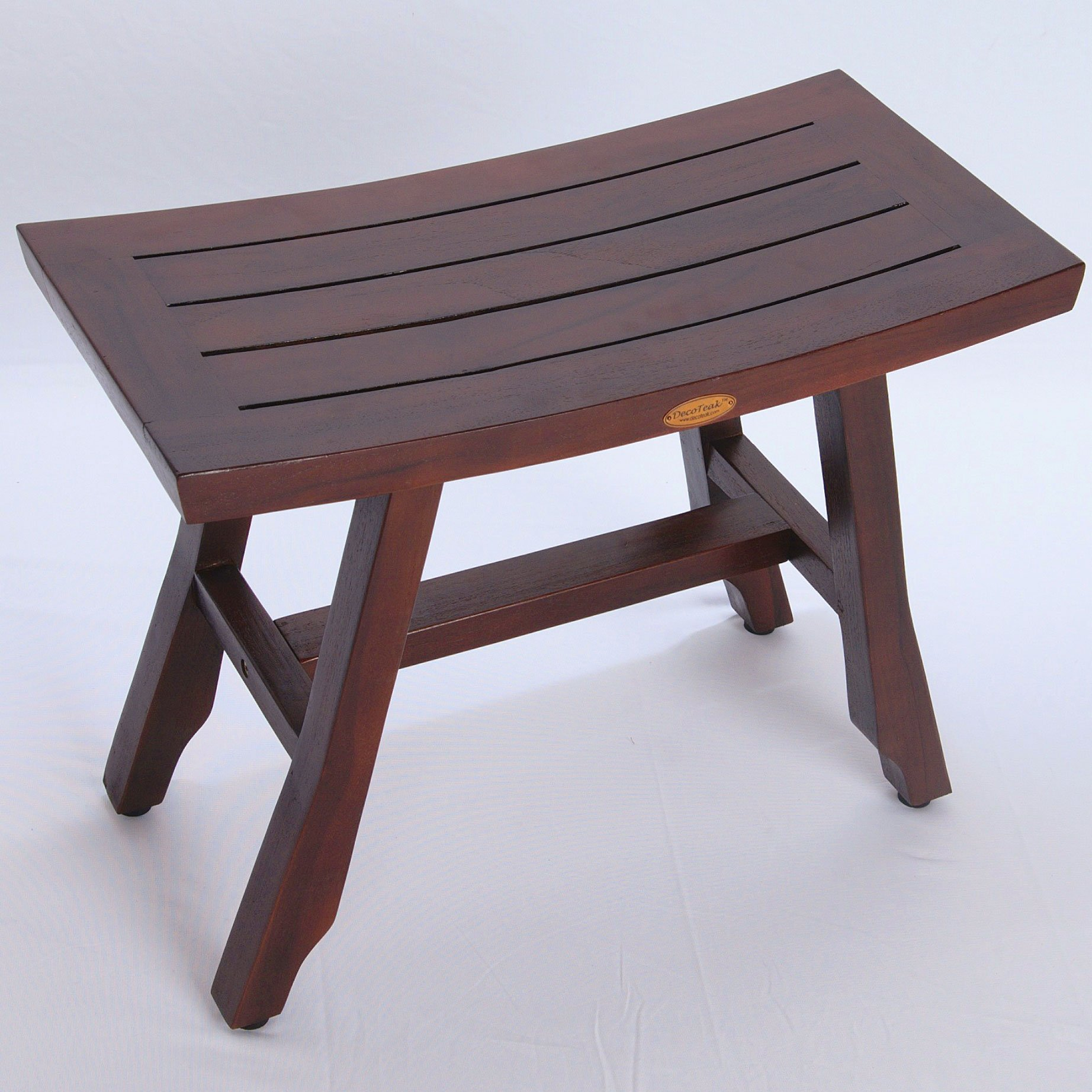 DecoTeak Satori 24'' Eastern Style Teak Shower Bench