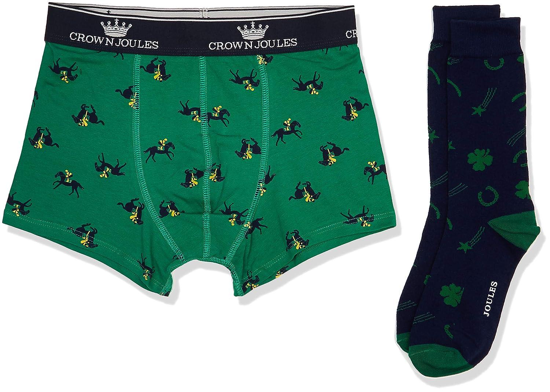 Joules Men's Put a Sock in It Boxer Shorts