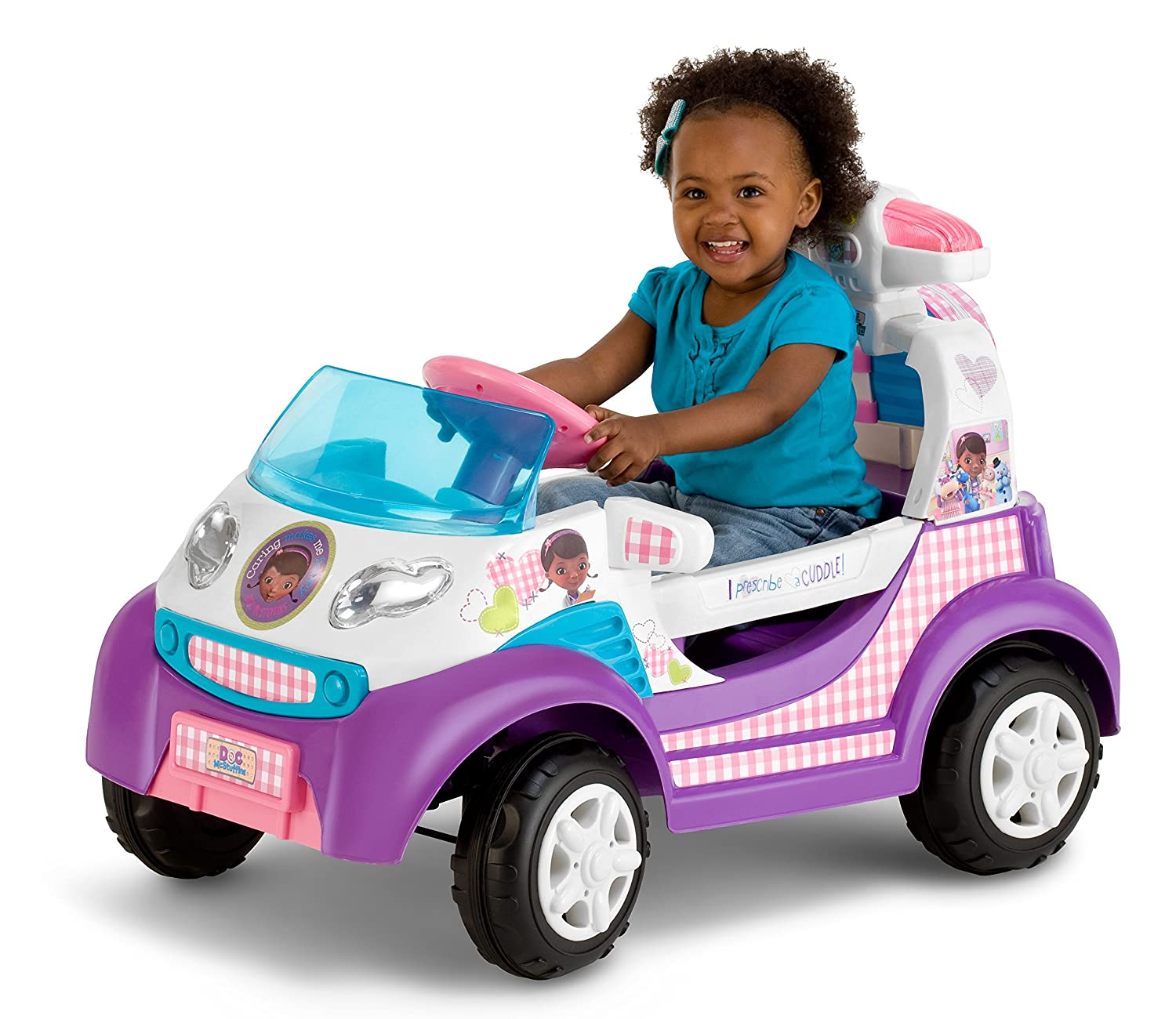 Amazon Kid Trax Doc McStuffins 6V Ambulance Ride Toys & Games