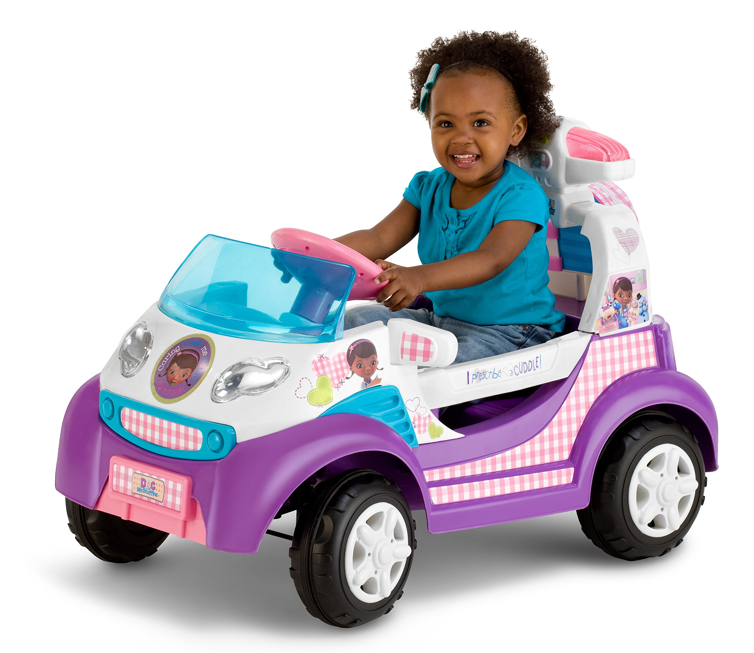 Kid Trax Doc McStuffins 6V Ambulance Ride On by Kid Trax (Image #2)