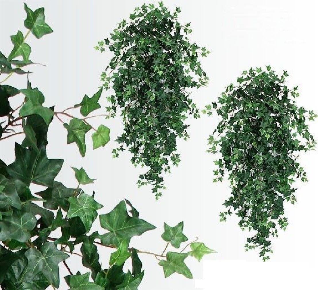 TWO 51'' Ivy Hanging Bush x18 Silk Plants Wedding Decor by Black Decor Home