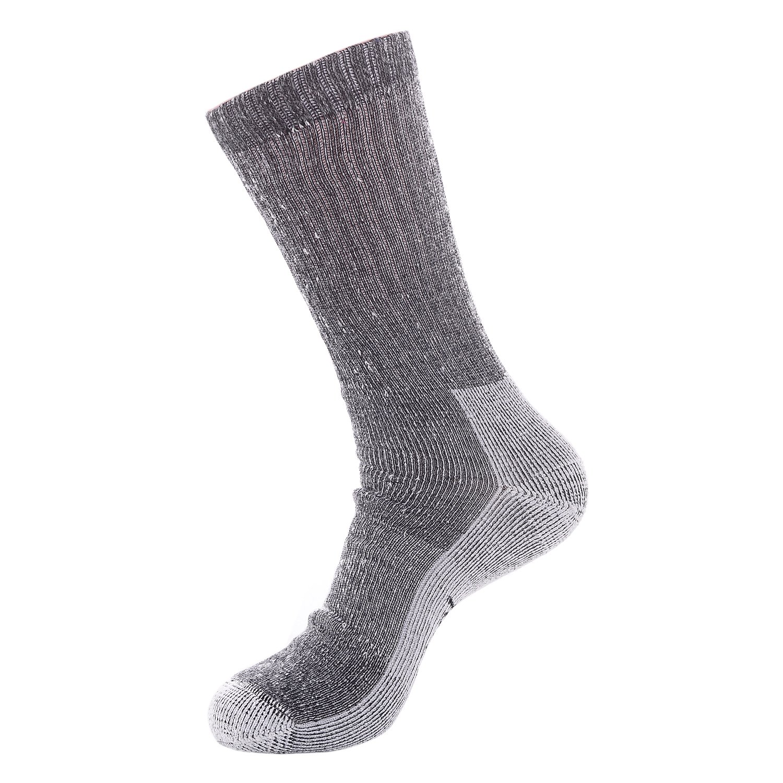 Laulax Mens 2 Pairs of Finest Wool Winter Socks Black Size UK 7-11 // Europe 40-46 Navy