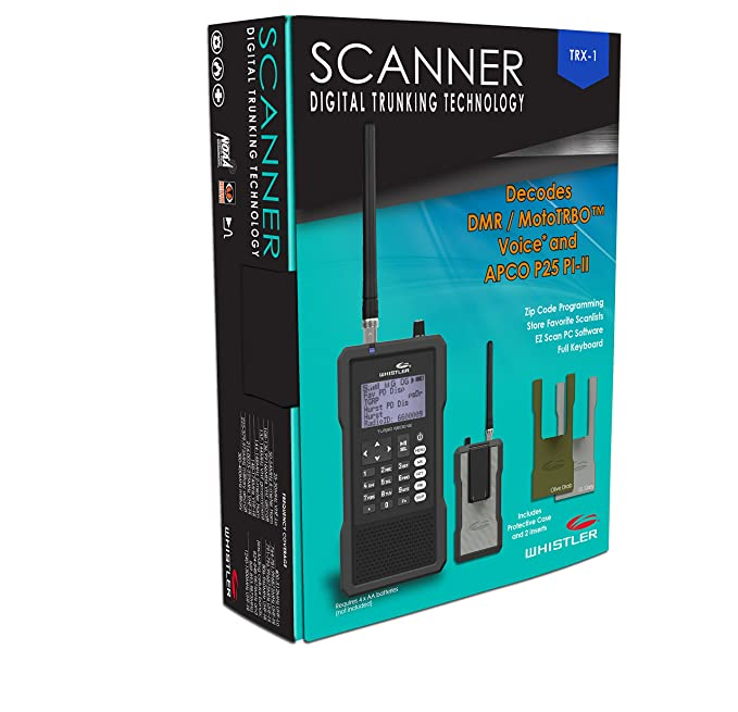 Amazon com: Whistler TRX-1 Handheld Digital Scanner Radio