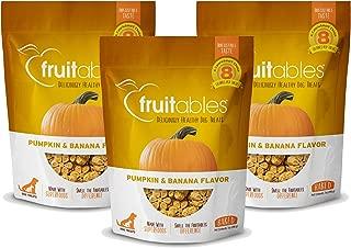 product image for Fruitables Baked Dog Treats Pumpkin & Banana Flavor (3 Pack) 7 oz Each